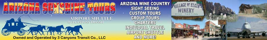 Tucson Airport Shuttle | from Sierra Vista Arizona